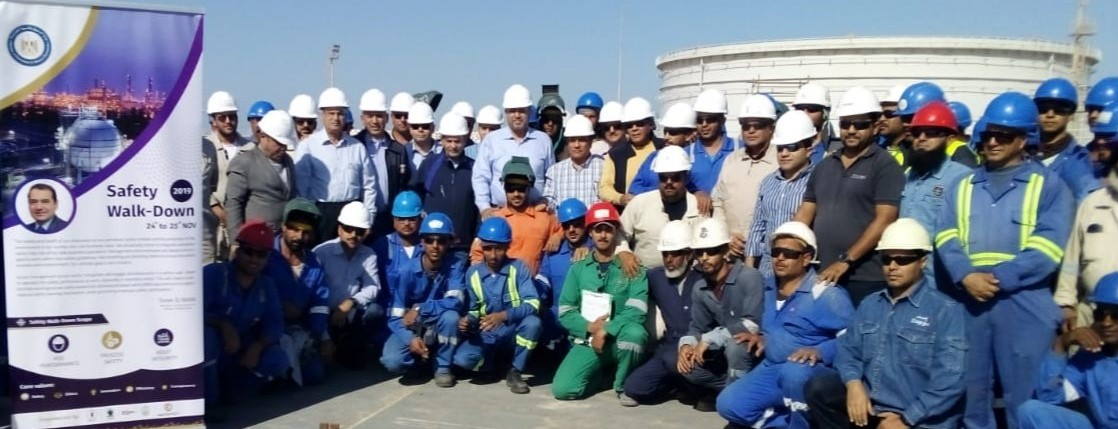 "wepco egypt ""WEPCO"", launch of Safety and Health International Day event under the leadership of Engineer Ibrahim Massoud at ElHamra Terminal"