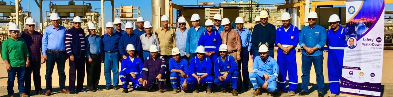 wepco egypt Wepco's chairman and leadership participate in the second day of the Safety Event in Badr-1 Field