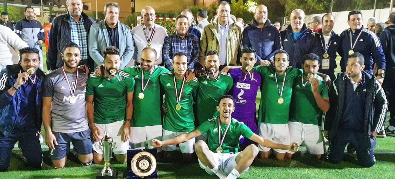 wepco egypt «ويبكو» تفوز بالدورة التنشيطية لكرة القدم الخماسي لشركات قطاع البترول «أسوان ٢٠١٩»
