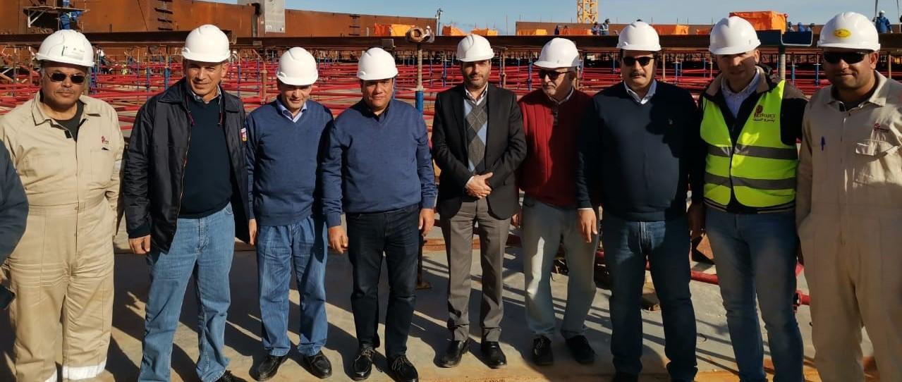 wepco egypt رئيس شركة «ويبكو للبترول» يتفقد موقع «ميناء الحمراء البترولي» ويترأس إجتماع «السلامة والصحة المهنية» الرئيسية .