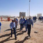 wepco egypt رئيس شركة «ويبكو للبترول» يتفقد بريمة الحفر «EDC 9» لحفر البئر التنموي «1/34 Bed» بموقع «بدر-١»